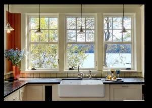 Modern Kitchen Windows