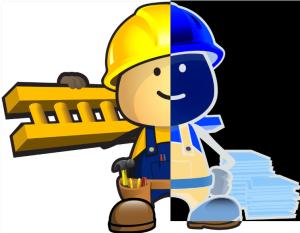 contractor cartoon